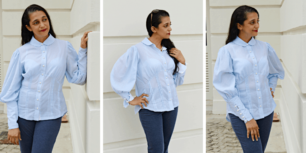 We simply adore the flair and class of all things vintage here at RP HQ. The supremely feminine and elegantly chic styles of days gone by can be recreated at home, in many different ways, with this brand new sewing pattern: The Very Vintage Blouse