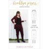 What happens when comfort and style collide? You get this ladies joggers sewing pattern! One piece of clothing that goes from pjs to boardroom.