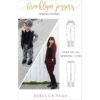 What happens when comfort and style collide? You get this ladies' and children's joggers sewing pattern! One piece of clothing that covers you and the kidlets from lounging about to running errands/ doing chores to hitting up the office or classroom.