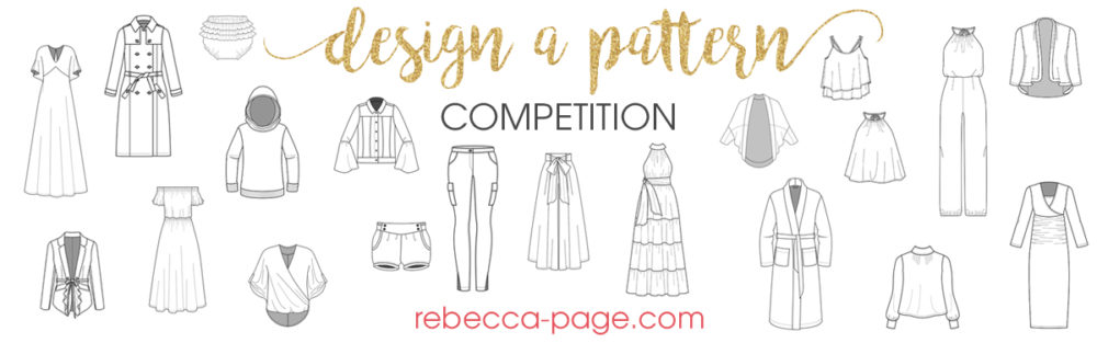 """It's here! Our """"Design a Pattern"""" competition! This is YOUR chance to design a garment and have it made into a real live sewing pattern!"""