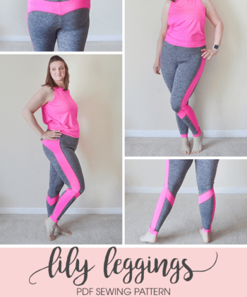 Leggings are the ultimate in wardrobe staples and comfort! And this leggings sewing pattern is waiting to take pride of place in your closet!
