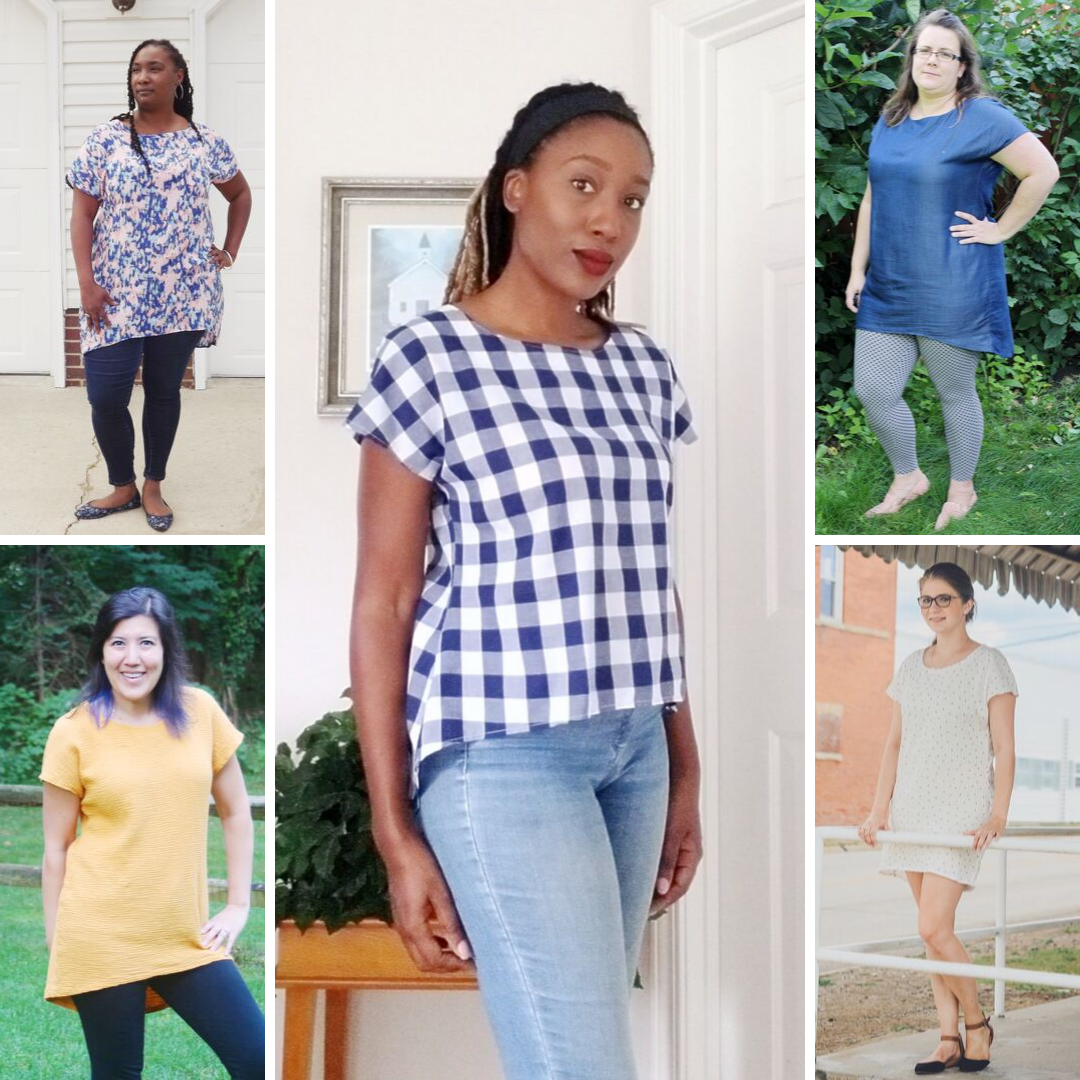The Laura: A Quick, Chic Sew (from Nearly Any Fabric!)