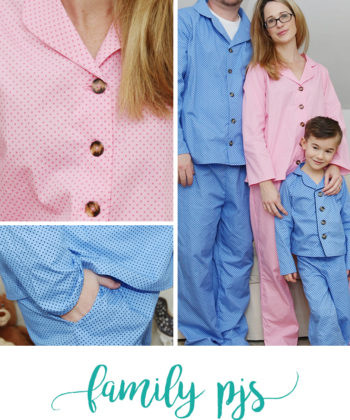 Whether you're a mom, dad, aunt, uncle, brother, sister, daughter, son, granny, grandpa, or even neighbour and friend, the whole family will adore this button up pjs sewing pattern.