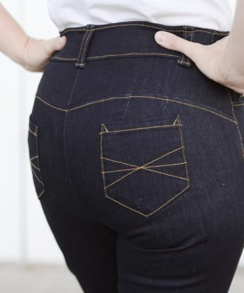 Incredibly comfy, perfectly-fitting jeans belong in every wardrobe! From summer to winter, toddler to adult, this jeans sewing pattern is a wardrobe staple.