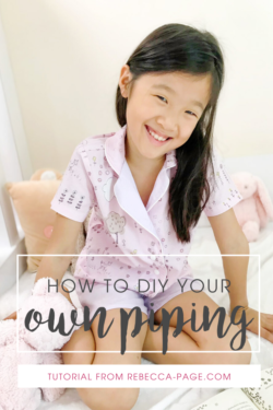 Discover how to make your own piping for the perfect finishing touch on so many items, including the Rebecca Page Family PJs