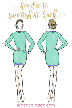 Use this tutorial to turn the Hoodie Dress into a long sweater. TWO methods to leave off the hood give you the comfiest, most stylish sUse this tutorial to turn the Hoodie Dress into a long sweater. TWO methods to leave off the hood give you the comfiest, most stylish sweater dress ever.weater dress ever.