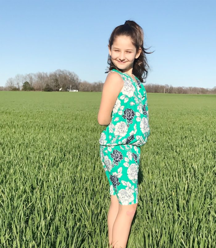 From fabric stash to cool and comfy outfit in no time! The Twist Strap Outfit gives you a childrens baggy jumpsuit sewing pattern and a bonus dress in 12 months to 12 years.