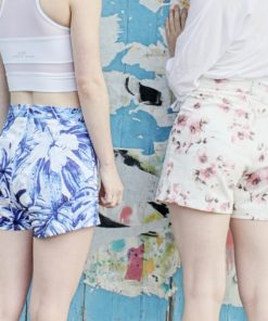 From summer to winter, these beautiful shorts and trousers are just a few seams away with this ladies vintage-style sewing pattern.