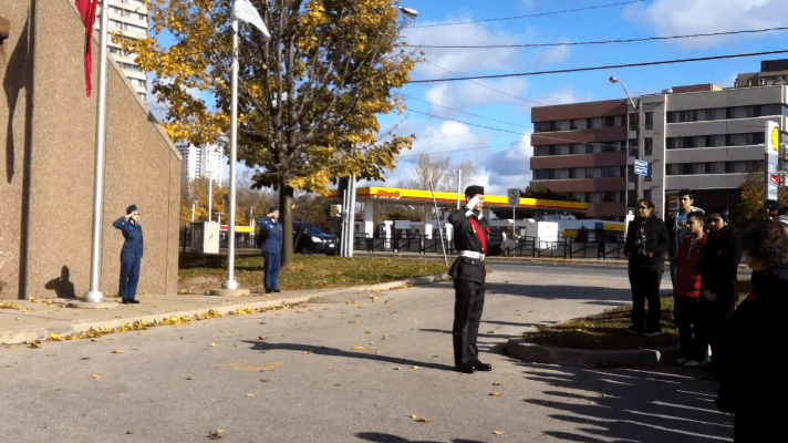Remembrance Day at MGCI