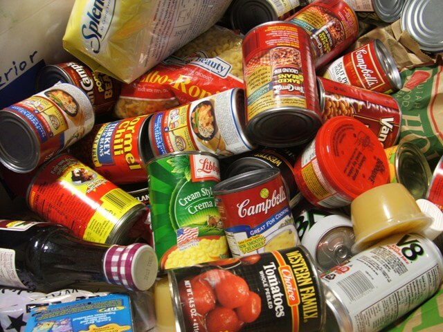 The Garneau Food Drive