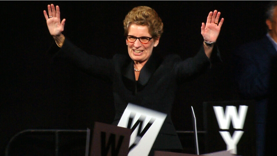 Kathleen Wynne Wins Leadership Convention