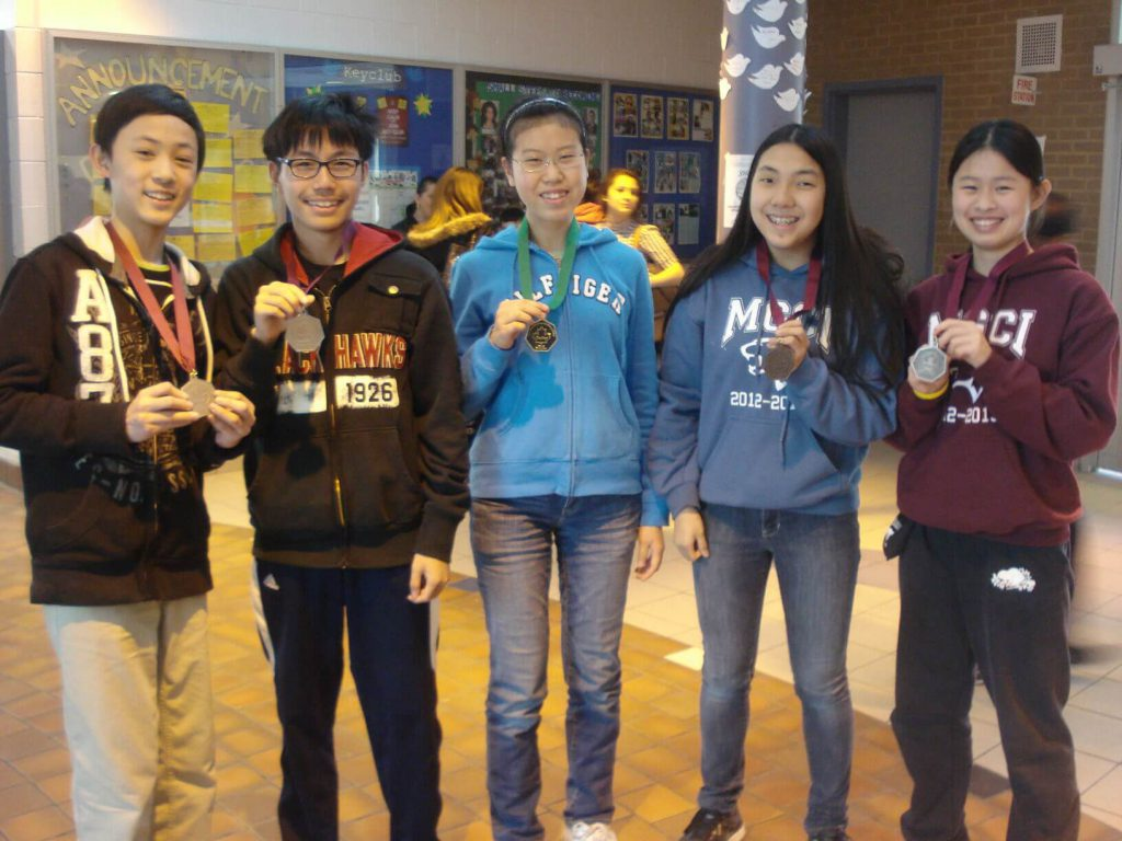 MGCI Among Champion Schools in National Math Contests