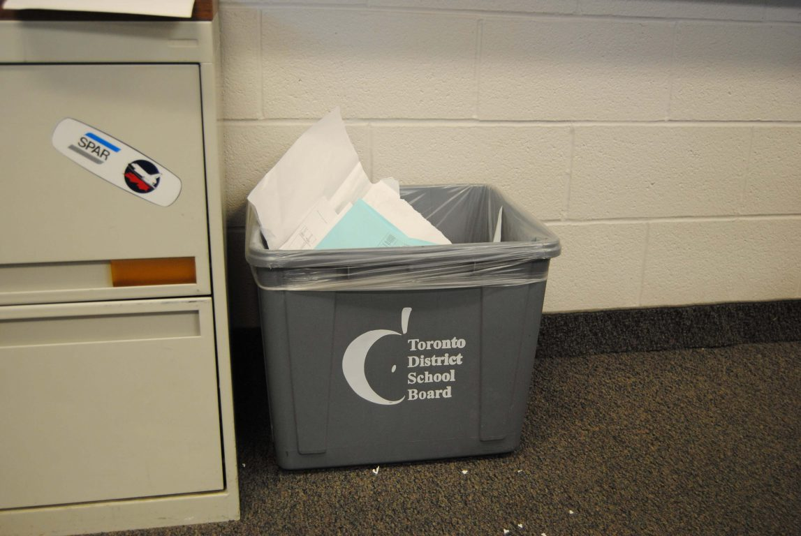 The Empty Recycling Bin