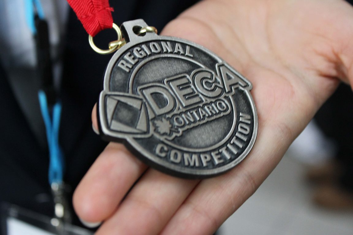 Garneau Means Business at DECA Regionals