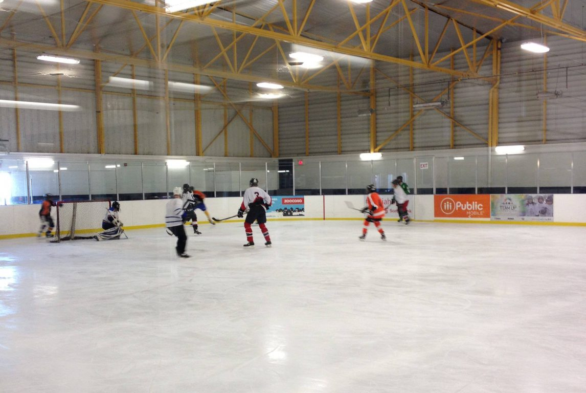 Students and Teachers Hit the Ice