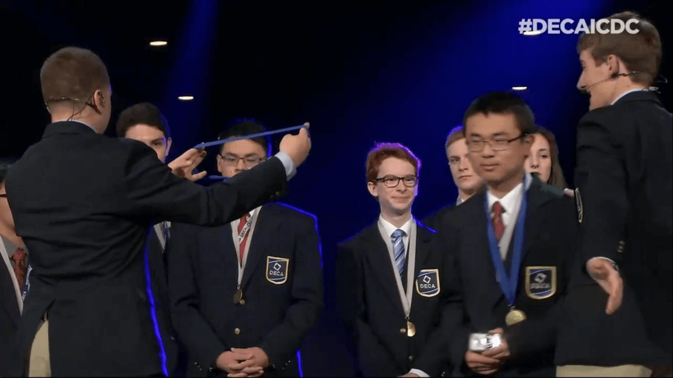 MGCI DECA Competes Internationally