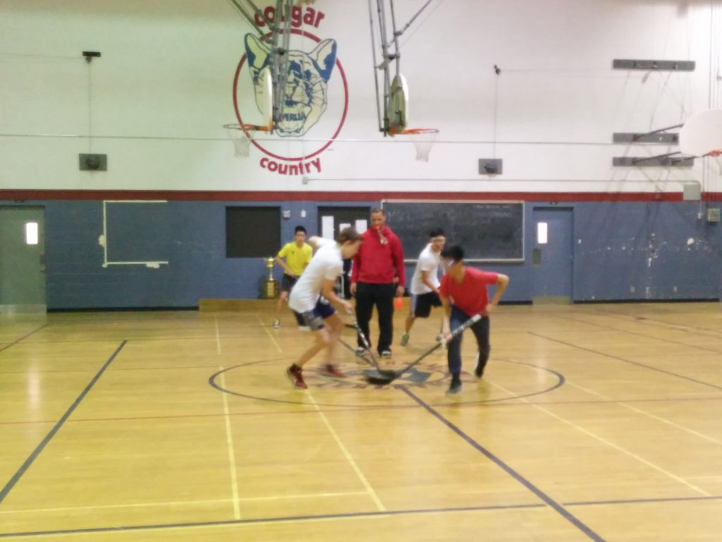 Overtime Decides the Champ – MGCI Ball Hockey Tournament