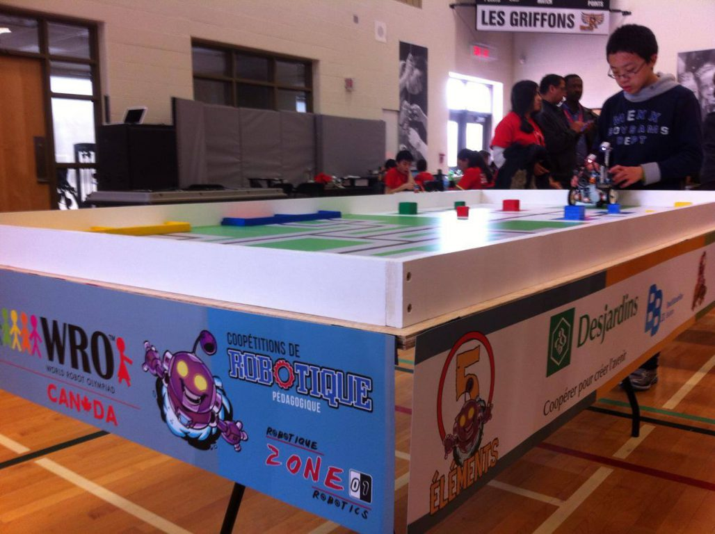 Building A Path To Victory: The Zone 01 Robotics Competition
