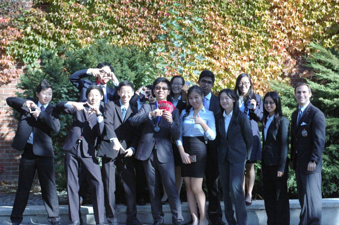 MGCI DECA Means Business at Regionals 2016