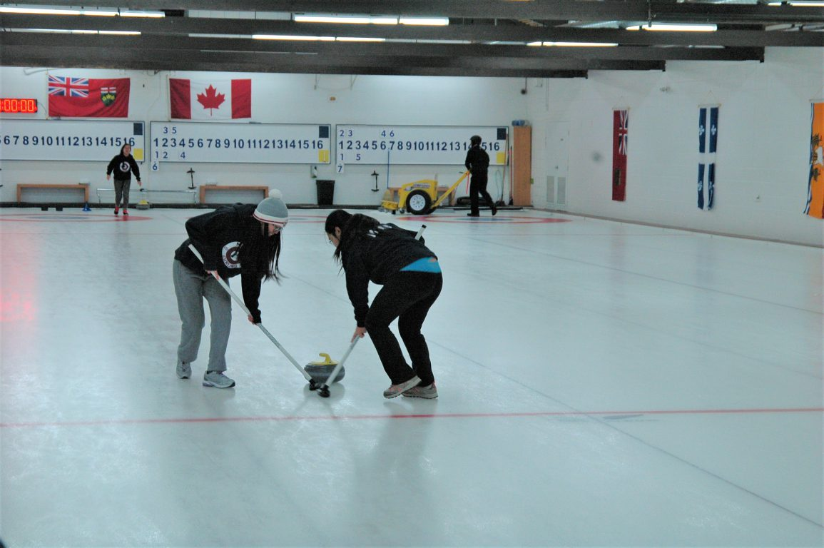 MGCI Curling Team Slides to Success