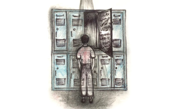 Inside Those Sharpie-Covered Lockers