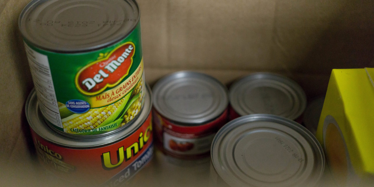 Tis the Season for Giving — Christmas Food Drive