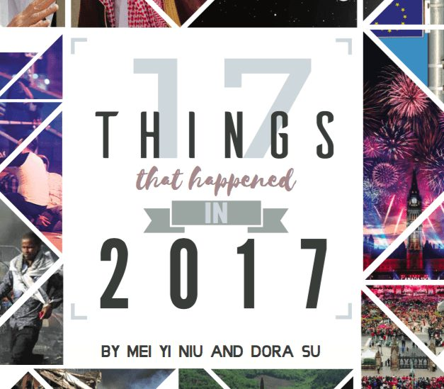 Year in Review: 17 Things that Happened in 2017