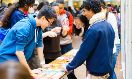 Students Become Aware at Clubs Fair
