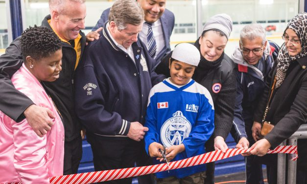 Flemingdon Park's Angela James Arena Scores a Makeover