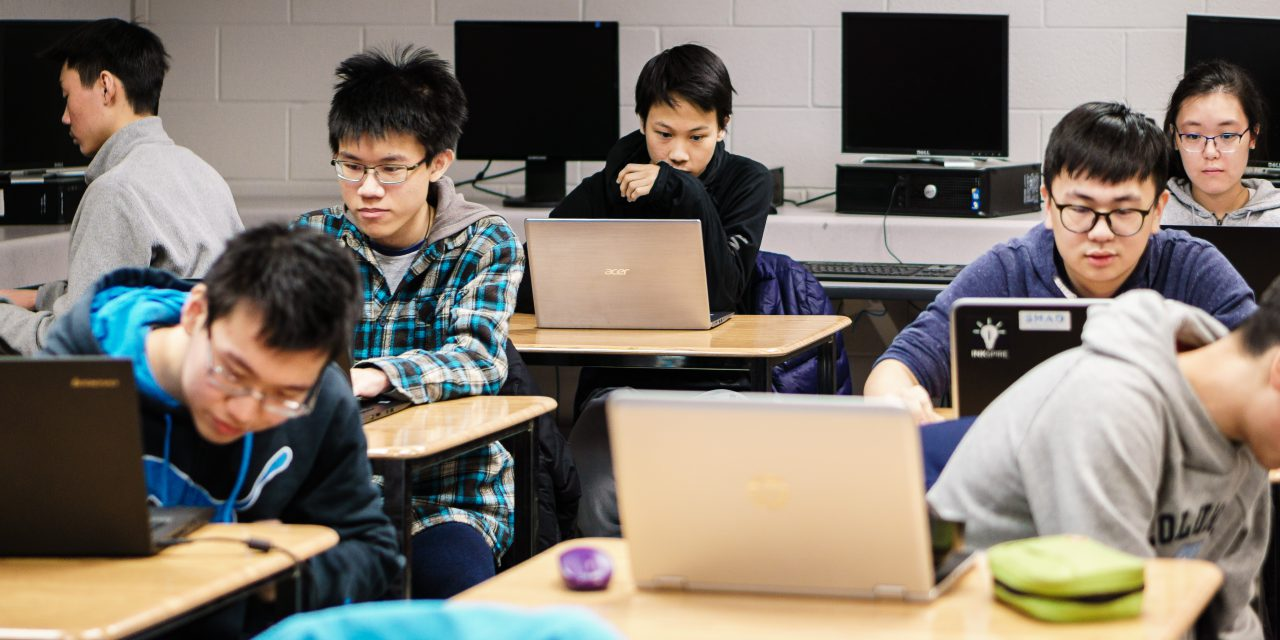 Upload, Submit, Compile: Canadian Computing Competition at Marc Garneau