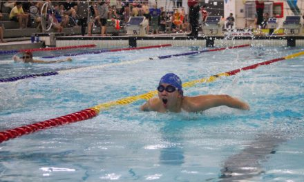 Garneau Swim Team Races to the Finish