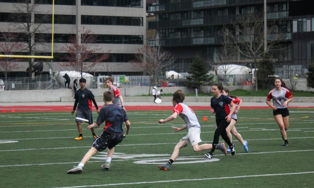 Catching for the Cougar: Ultimate Frisbee