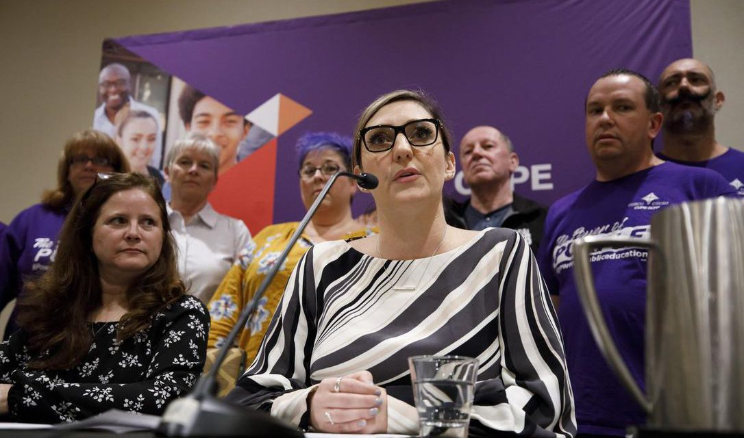 CUPE says NO: Fighting cuts to education