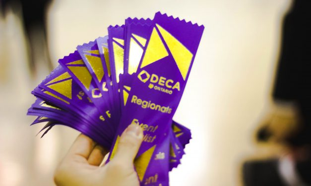 Rising Above the Competition at DECA Regionals