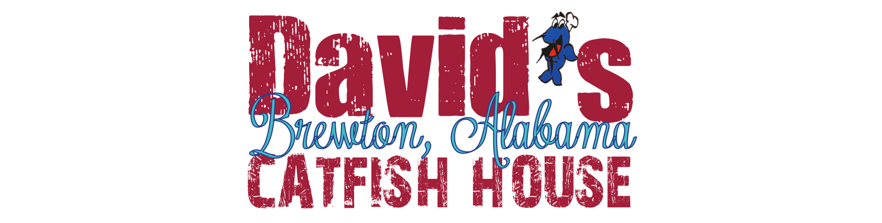 David's Catfish Logo