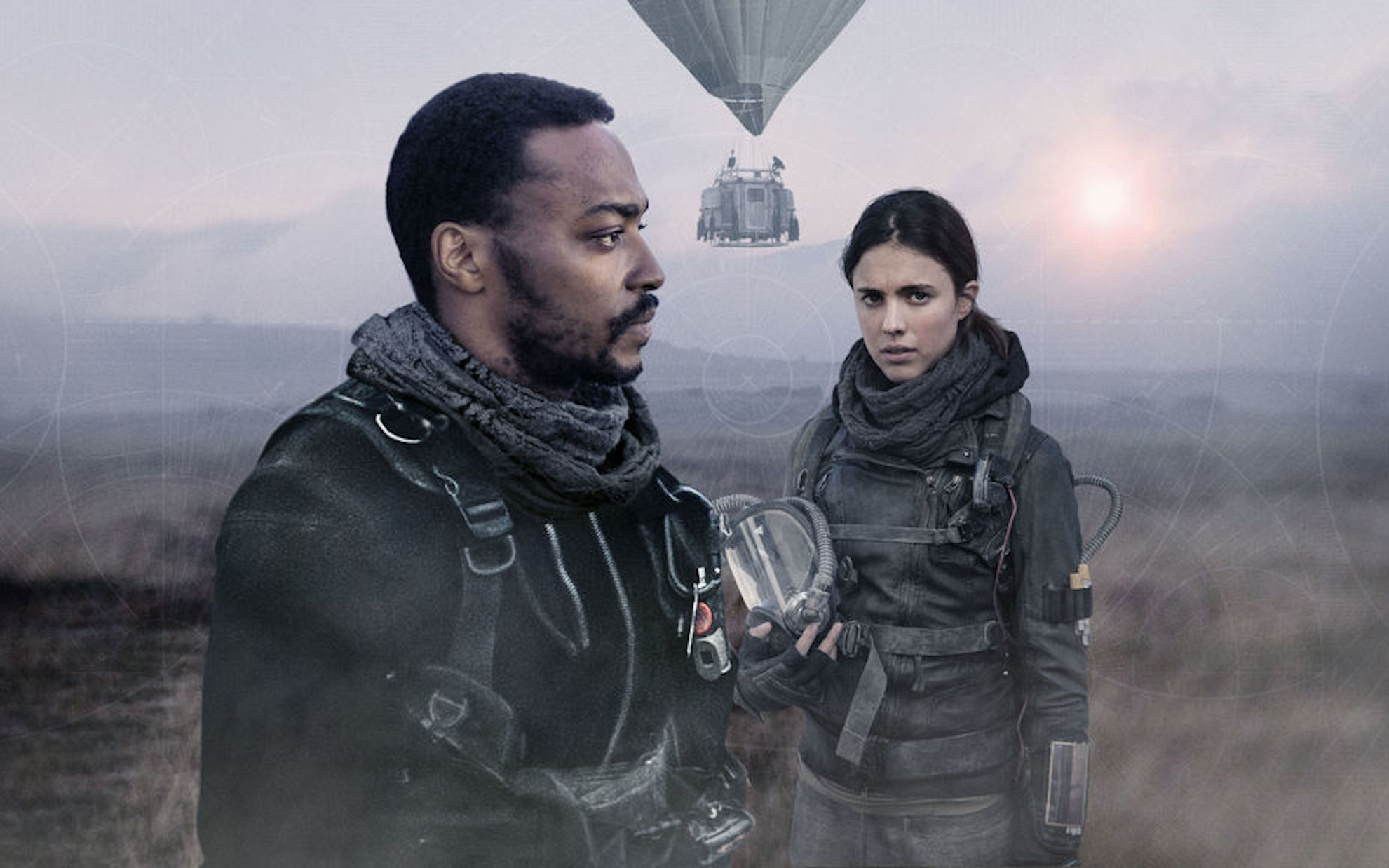 Anthony Mackie heads to Jupiter's moon in the trailer for 'IO'