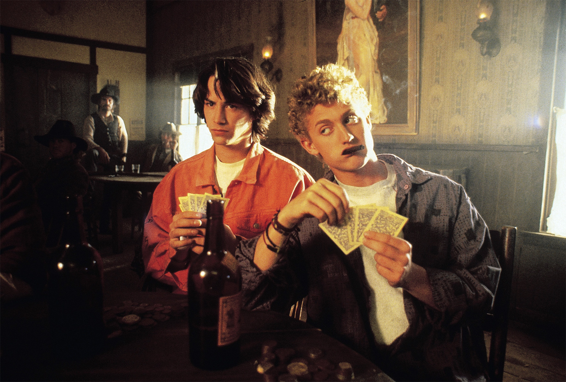 bill and ted announce that 'bill and ted 3' will finally