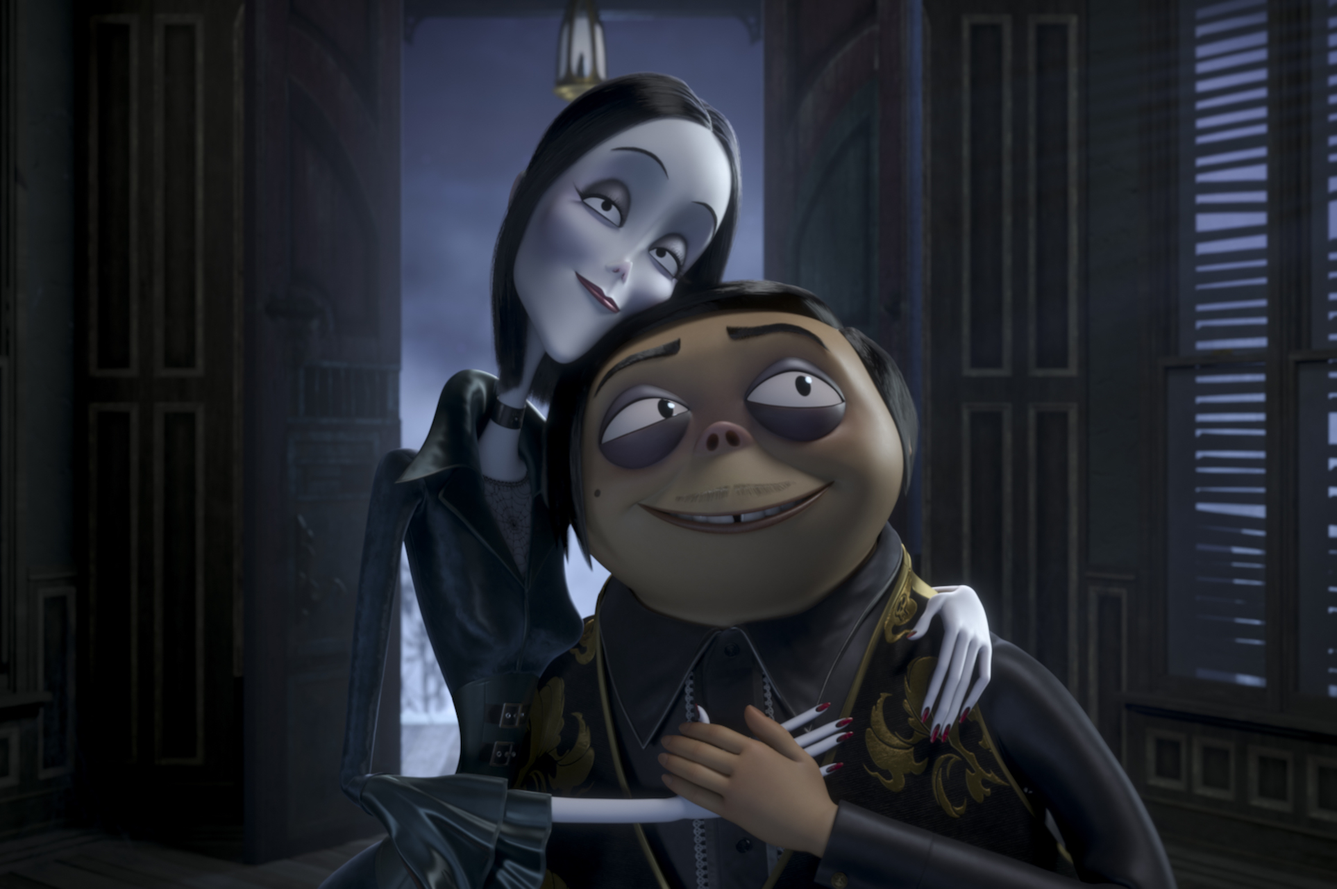 Image result for addams family animated
