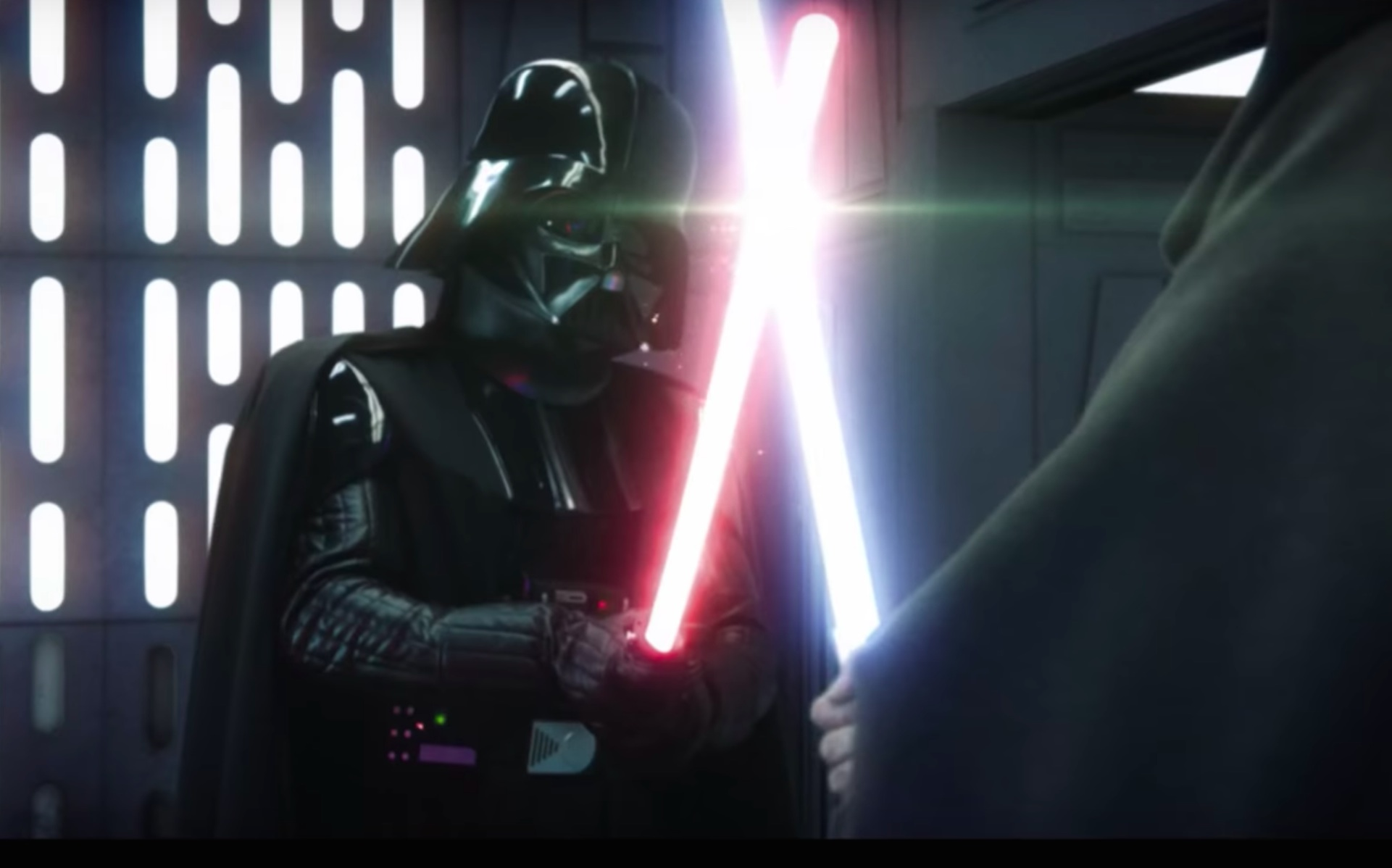 Holy Sith This Updated Obi Wan Vs Darth Vader Lightsaber Duel Is Insane