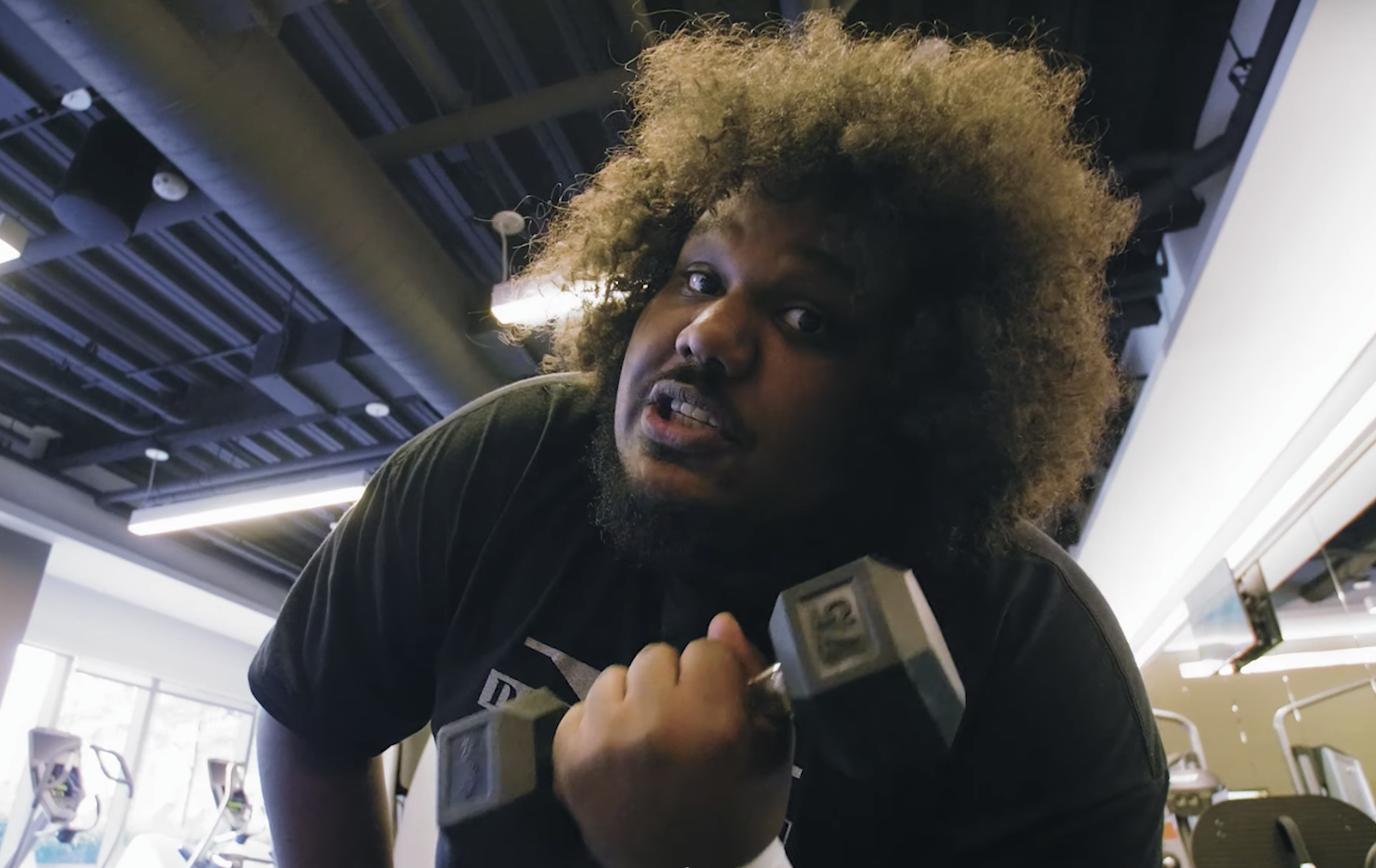 Michael Christmas.Michael Christmas Wrestles Your Weekend To The Ground With