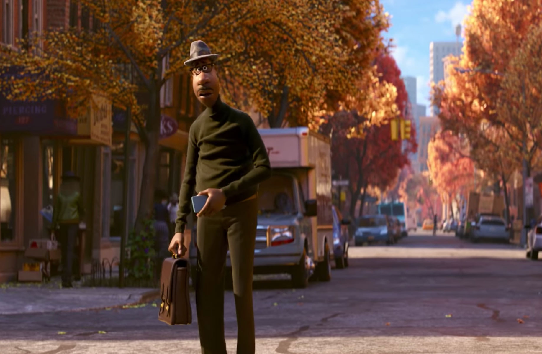 The first trailer for Pixar's 'Soul' follows Jamie Foxx into the afterlife