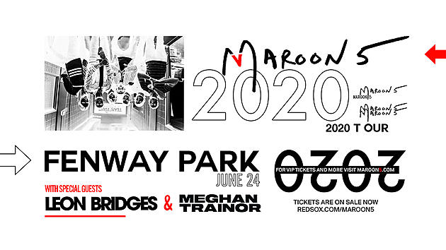 Maroon 5 Tour 2020.Red Sox Blues Maroon 5 To Play Fenway Park In 2020