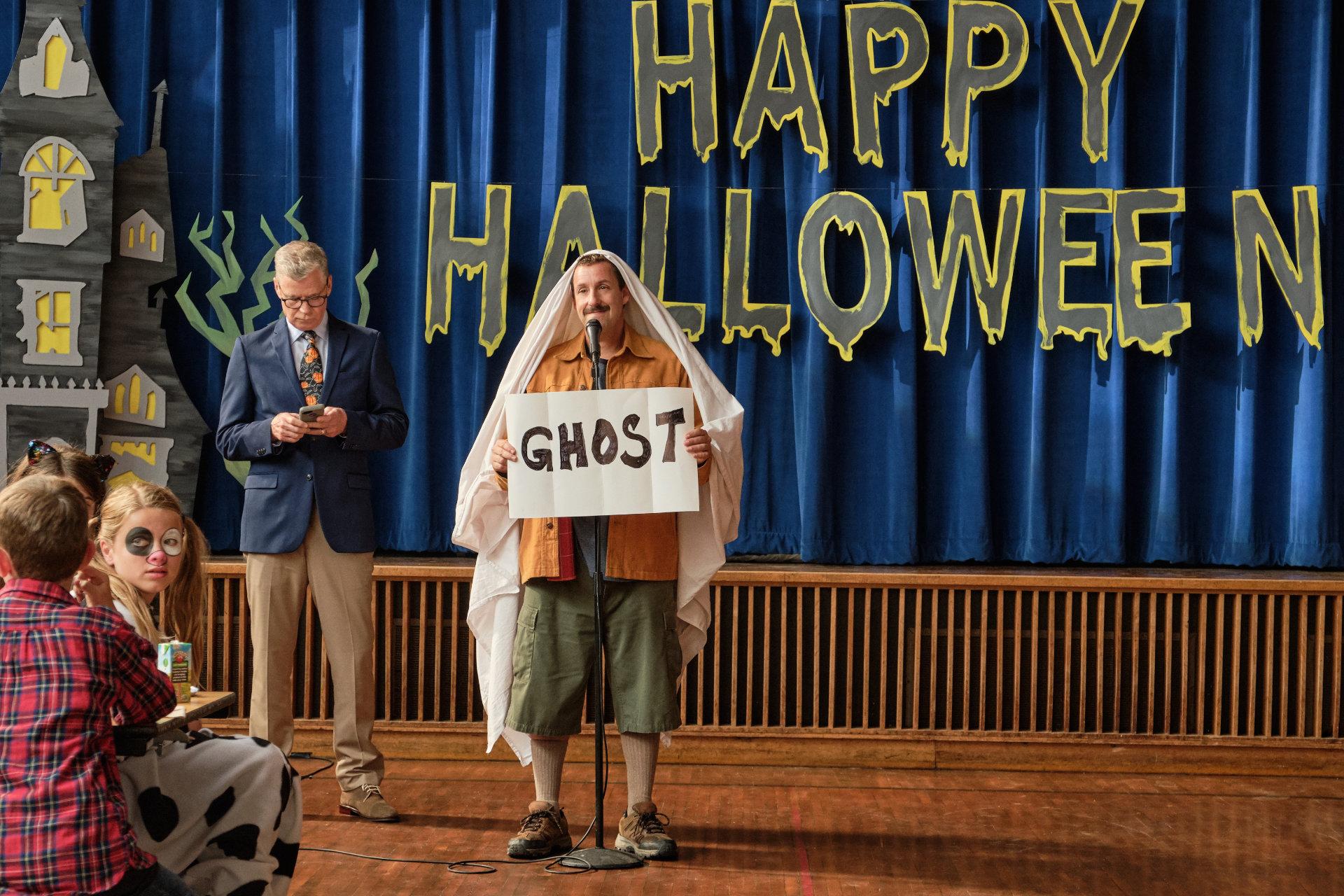 Adam Sandler Has A Hubie Halloween In This Marblehead Filmed Netflix Movie