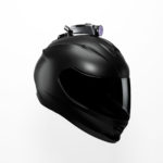 Product rendering helmet action cam