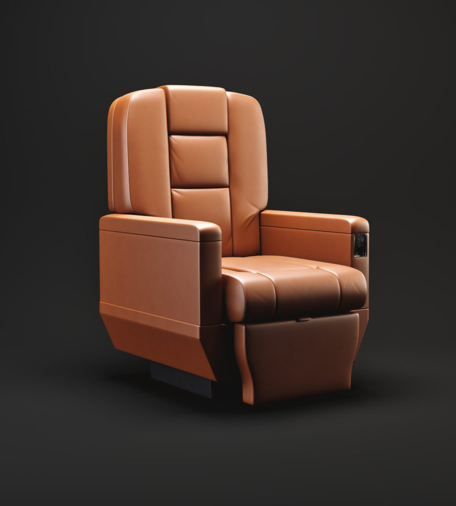 Aircraft_Seat_3d_Rendering