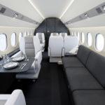 Dassault Falcon Interior