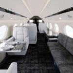 Gulfstream interior rendering