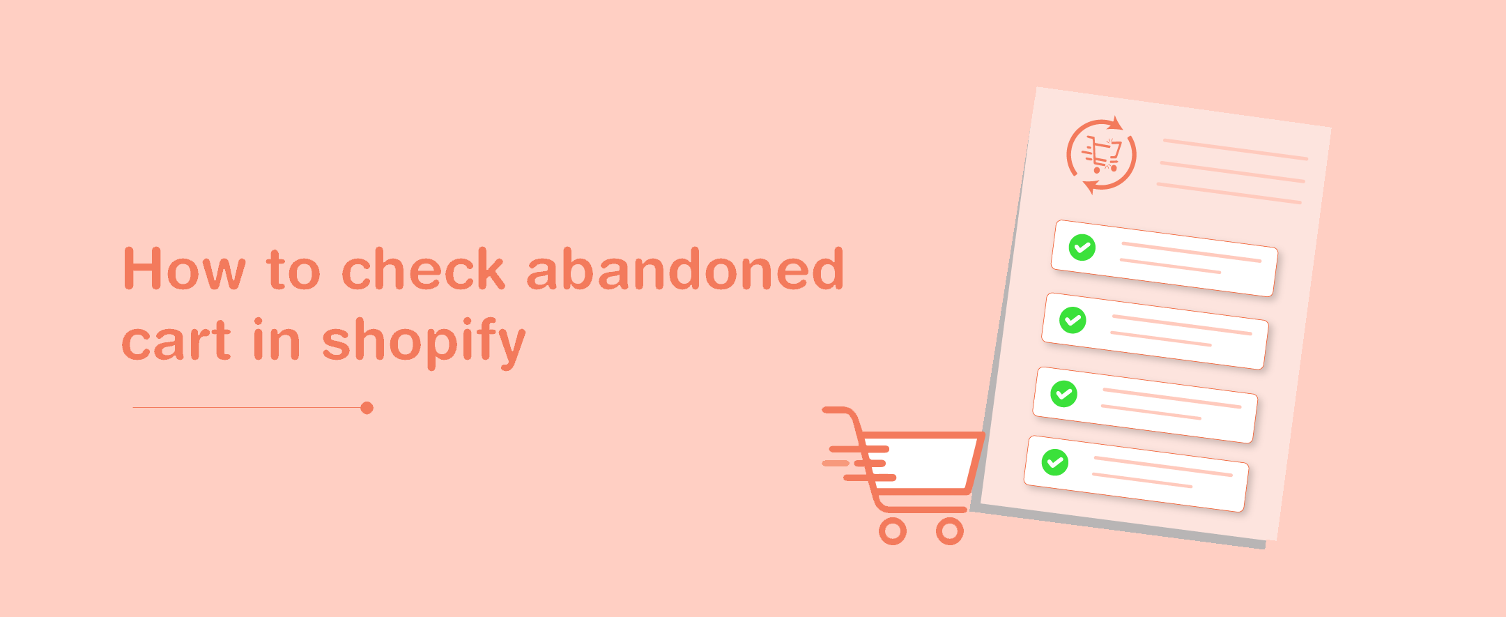How to Check Abandoned Carts in Shopify?