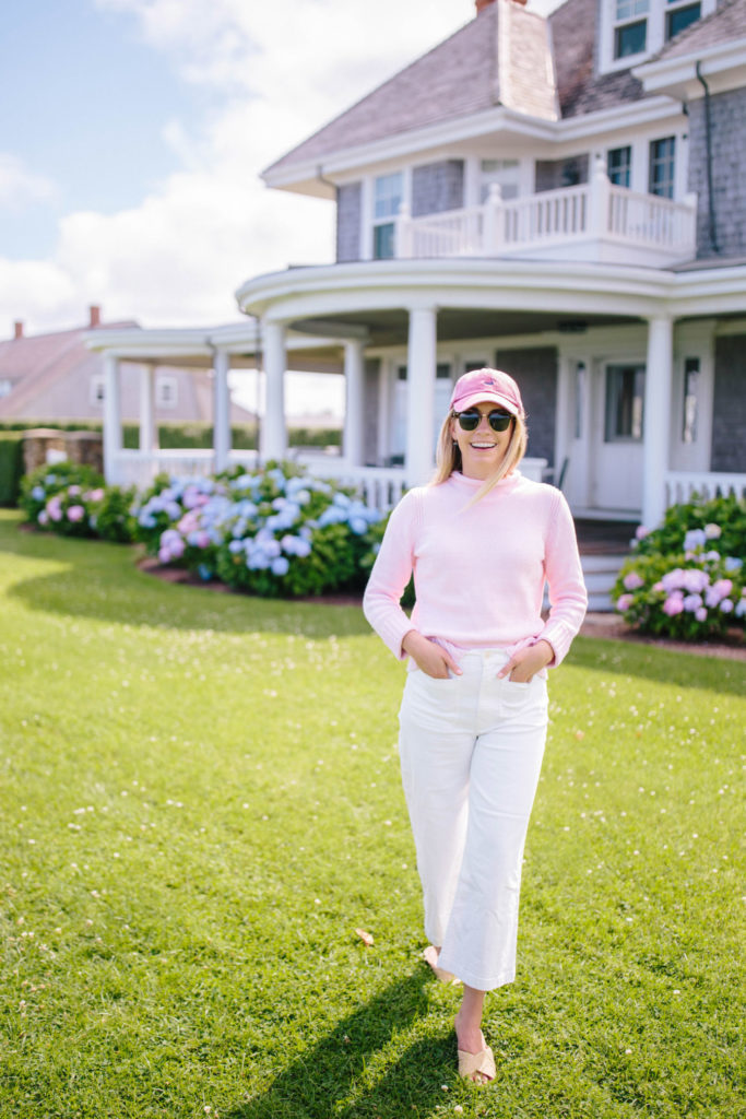 How To Style White Jeans - White Jeans on Nantucket | Rhyme & Reason 1