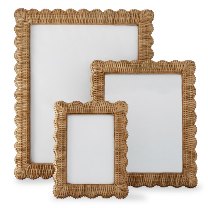 Wicker Picture Frame